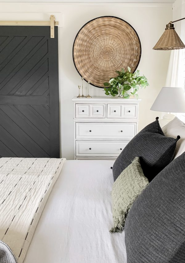 Master Bedroom Moody Barn Door Reveal