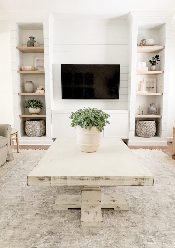 Shiplapped Media Built-Ins Tutorial