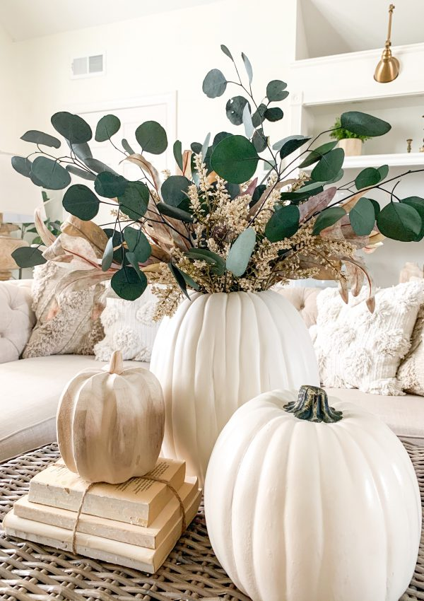Fall DIY Pumpkin Vase