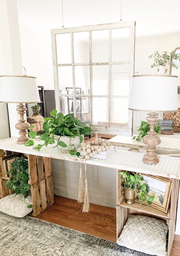 How I Restyled My Console Table With Studio McGee Target Finds