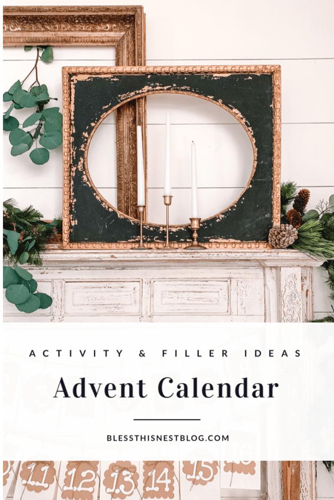 text overlay of advent calendar