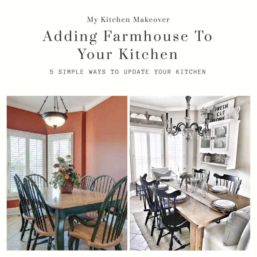 adding farmhouse to your kitchen