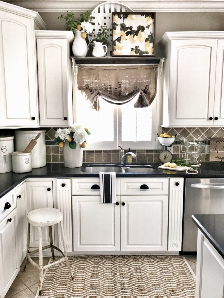 lemon kitchen for decor