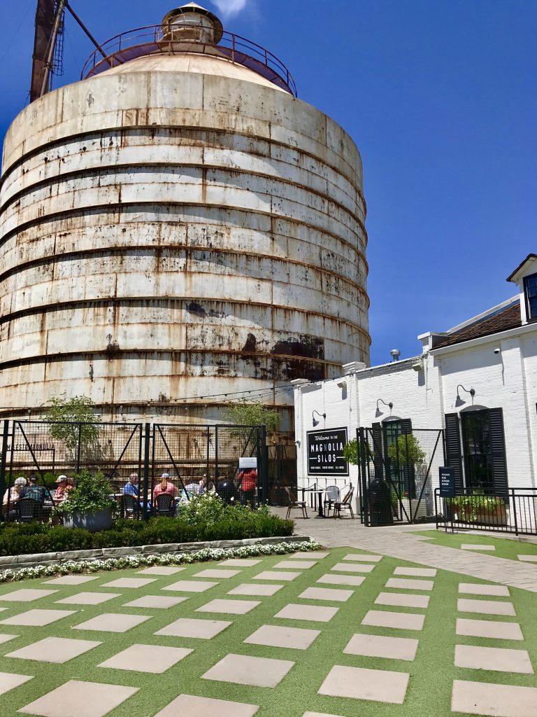 Magnolia Silos bakery exterior