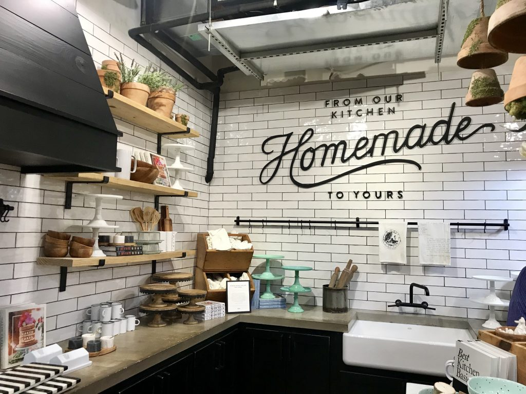 magnolia kitchen backsplash