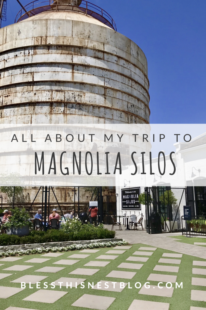 all about my trip to the Magnolia Silos