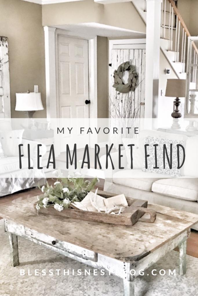 my favorite flea market find