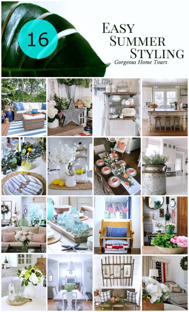 easy summer styling blog hop master image
