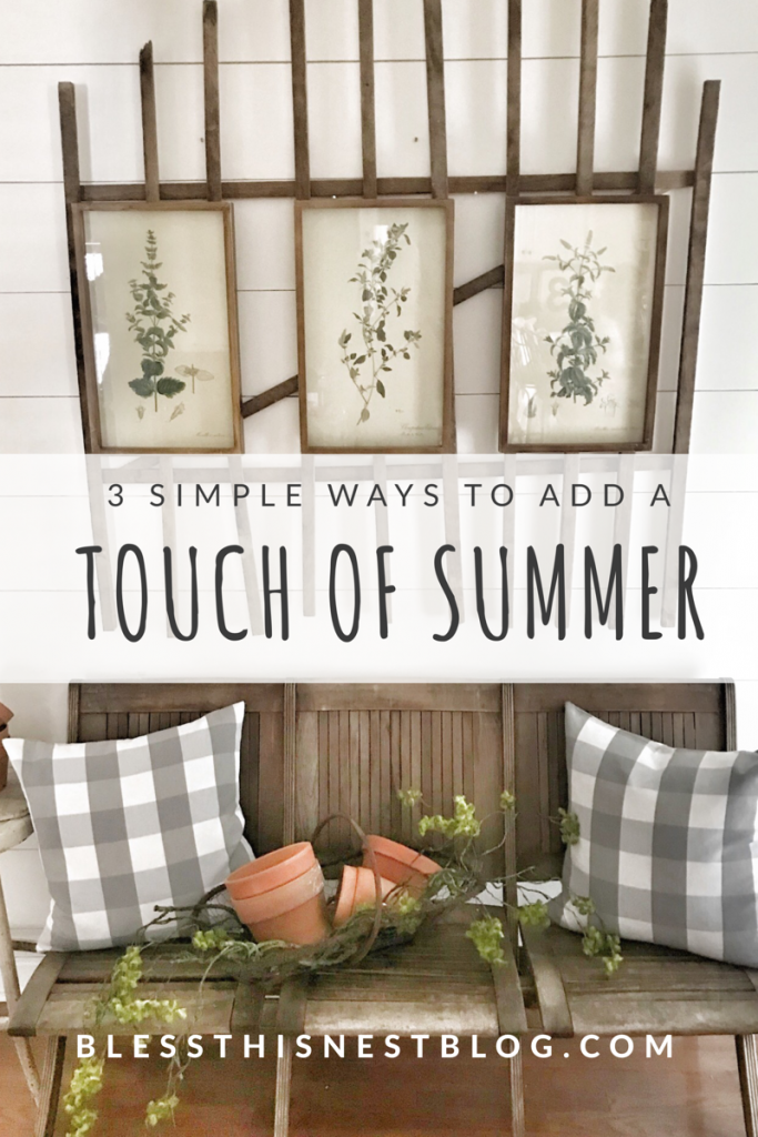 3 simple ways to add a touch of summer