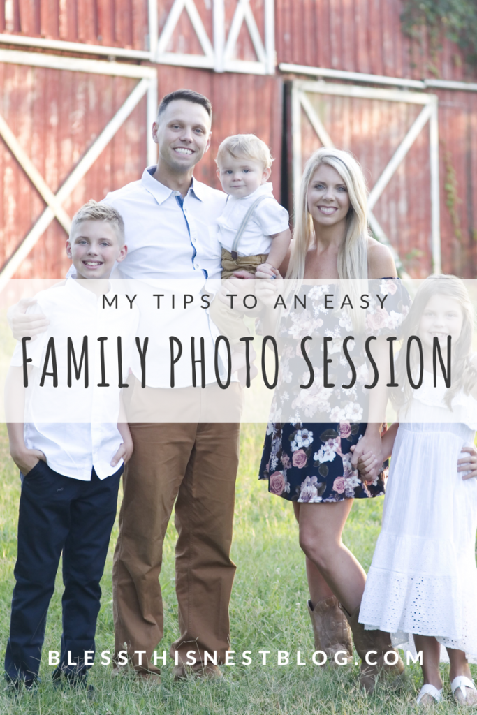 my tips for an easy family photoshoot