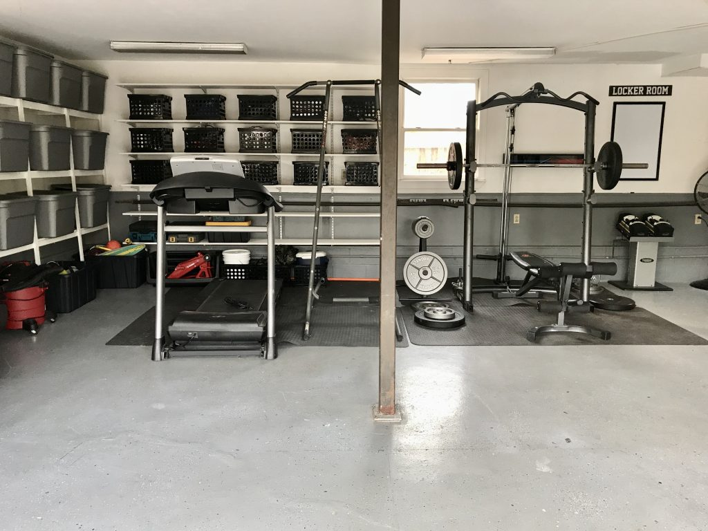 garage transformation after
