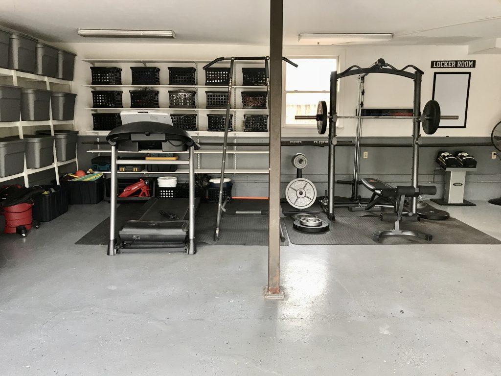 garage transformation after