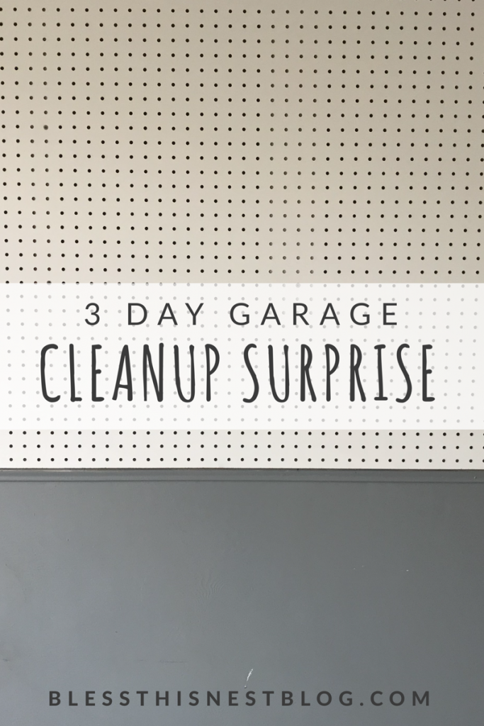 garage transformation - 3 day garage cleanup surprise