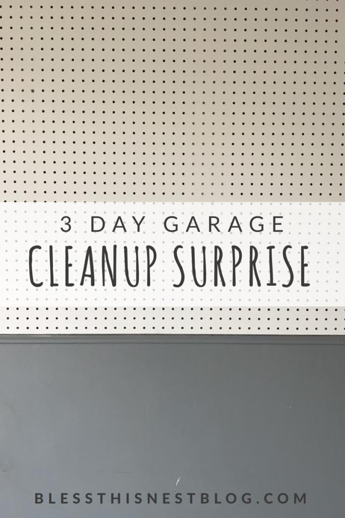 garage transformation - 3 day garage cleanup surprise