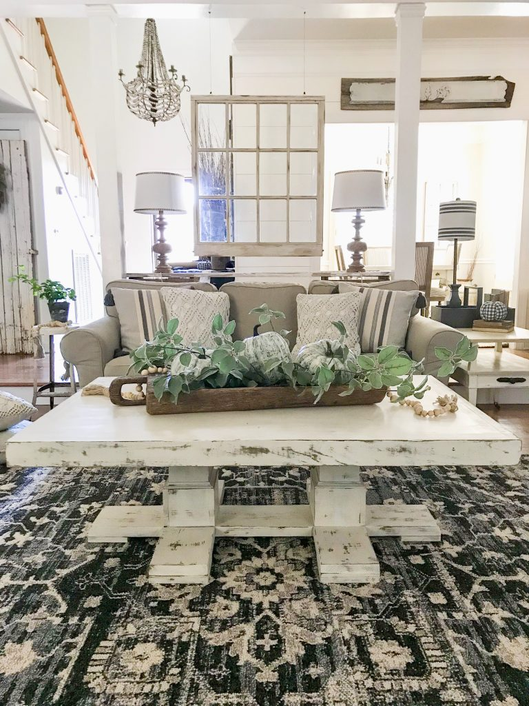 white southern sunshine coffee table