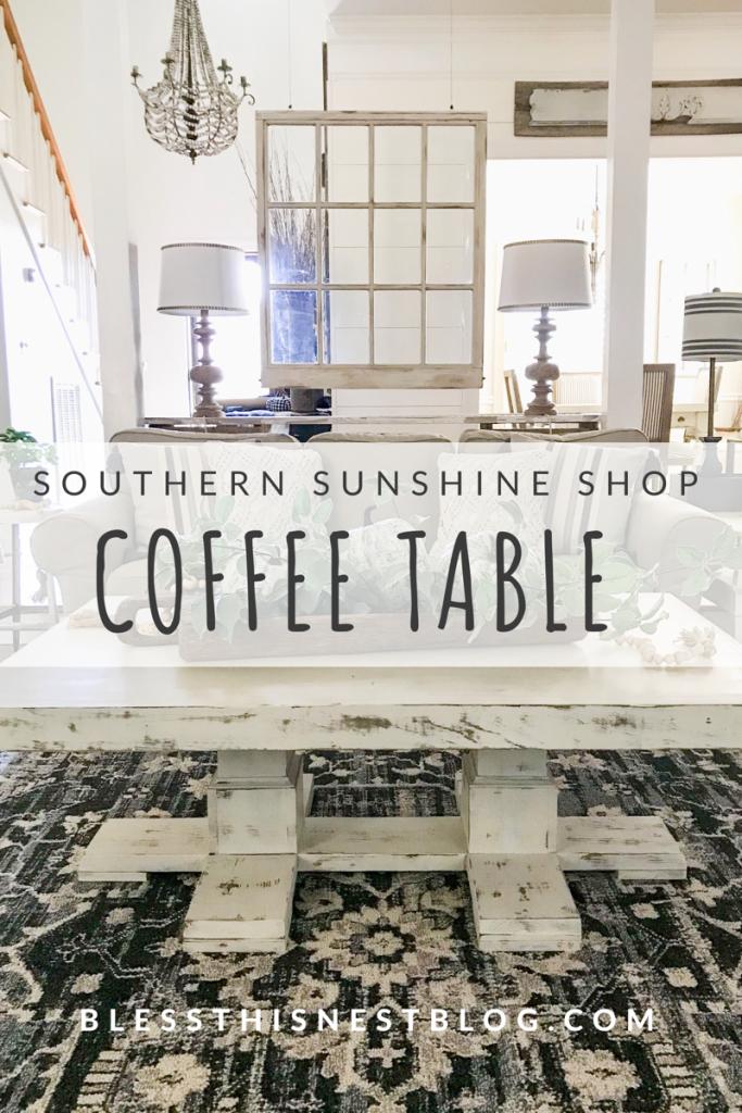 Southern Sunshine Shop coffee table