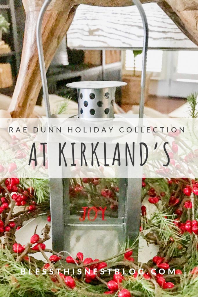 Rae Dunn Christmas Collection at Kirkland's
