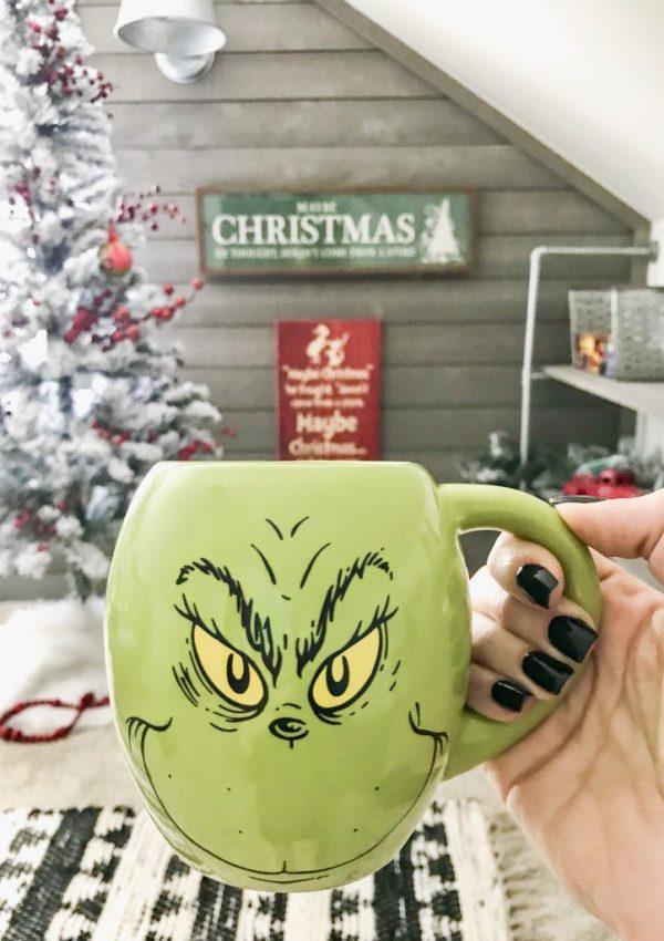 The Grinch Decor at Kirkland's for Christmas