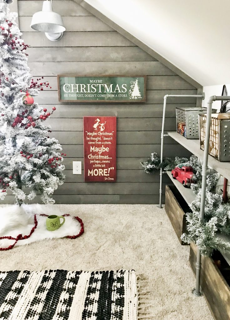 Grinch Christmas signs