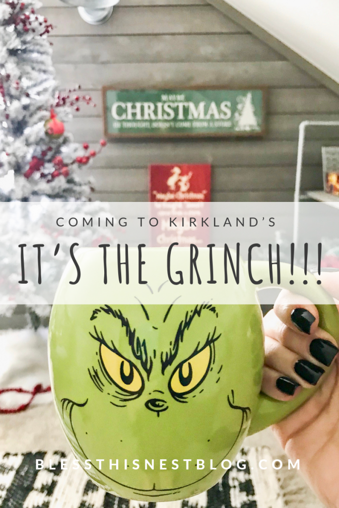 coming to Kirkland's It's the Grinch