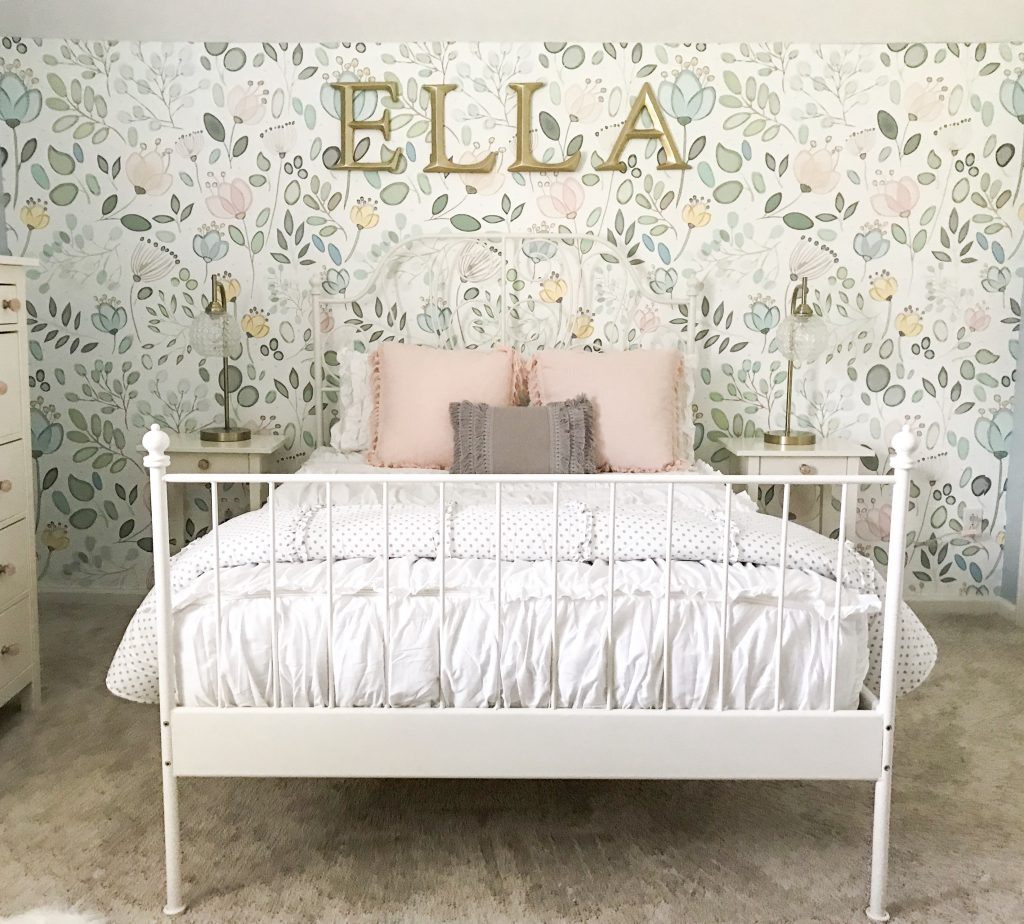 little girl bed