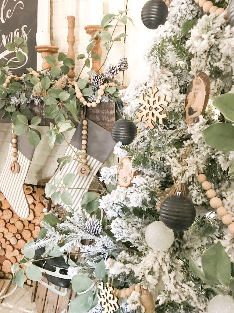 close up of ornaments