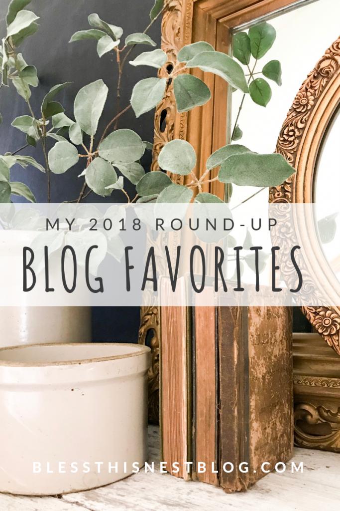 My 2018 Blog Favorites