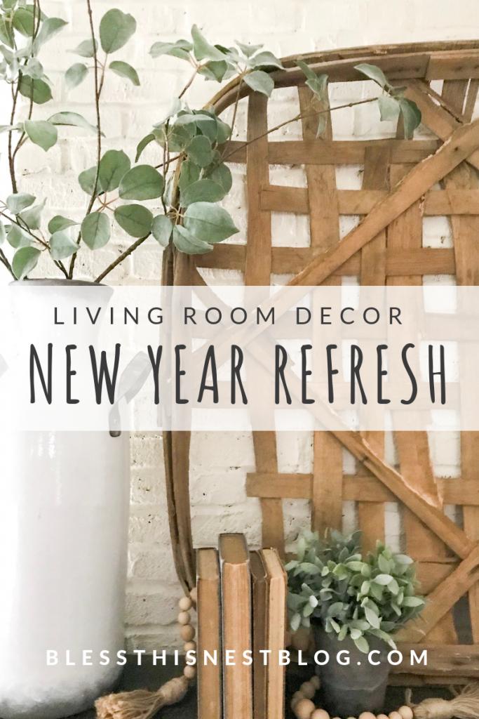 Living room decor ideas new year refresh