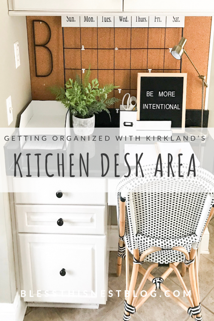 kitchen desk area blog banner