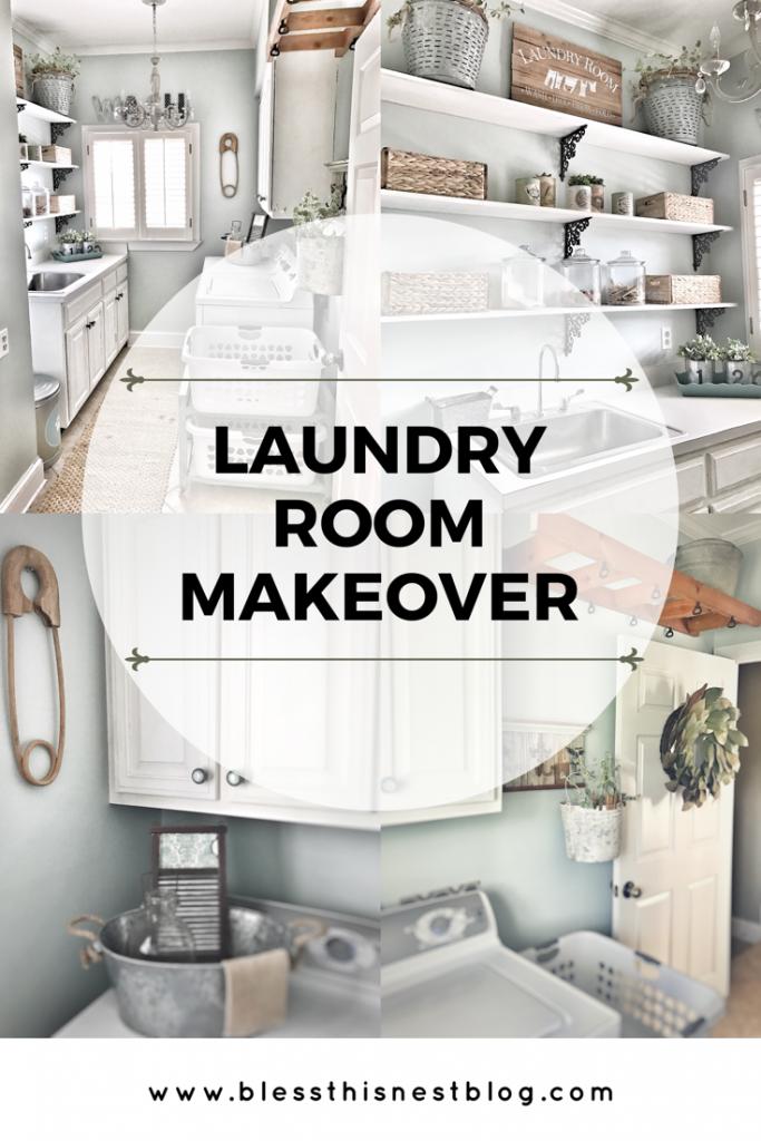 laundry room makeover header image