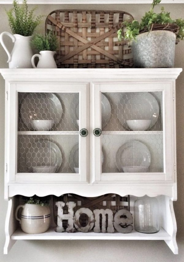 How To Update A Hutch And Make It A Focal Point