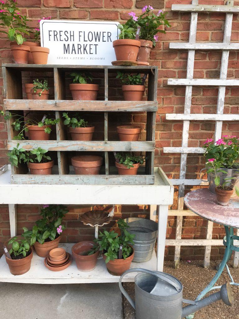 farmhouse herb garden