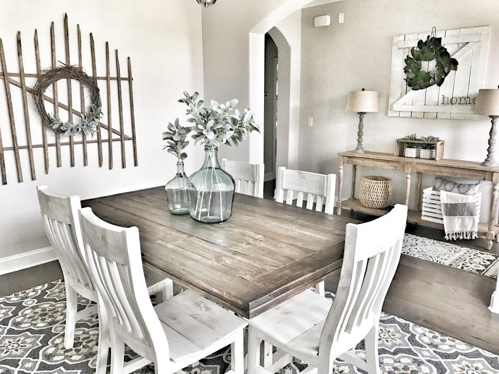farmhouse formal dining room