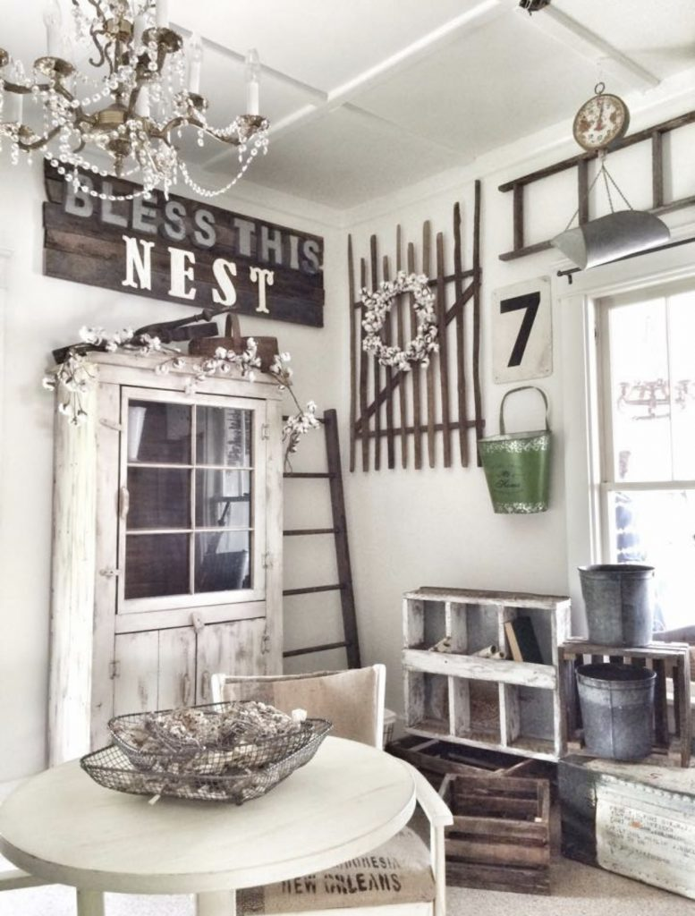 bless this nest antique booth at no. 38 vintage marketplace