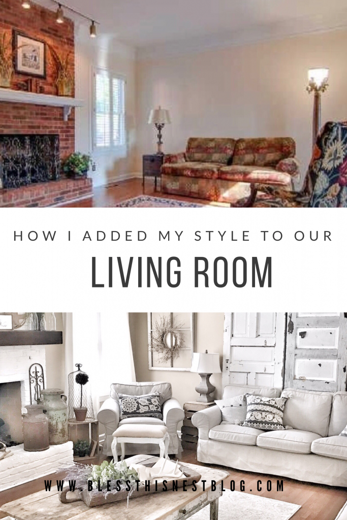how i added my style to our living room