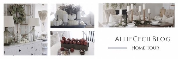 alliececilblog home tour