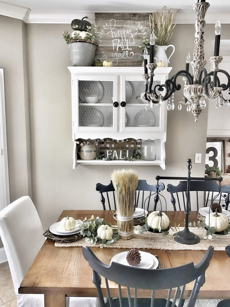 farmhouse fall kitchen wall decor