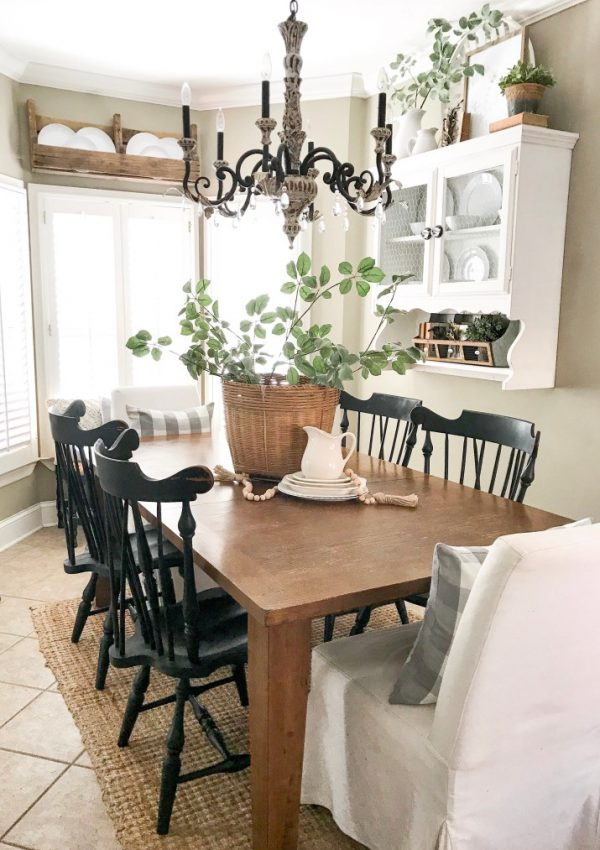 Kitchen Eating Area Refresh