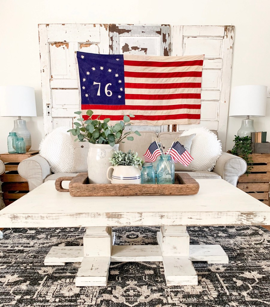 Vintage Inspired 4th Of July Decor Bless This Nest