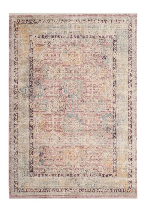 light pink area rug