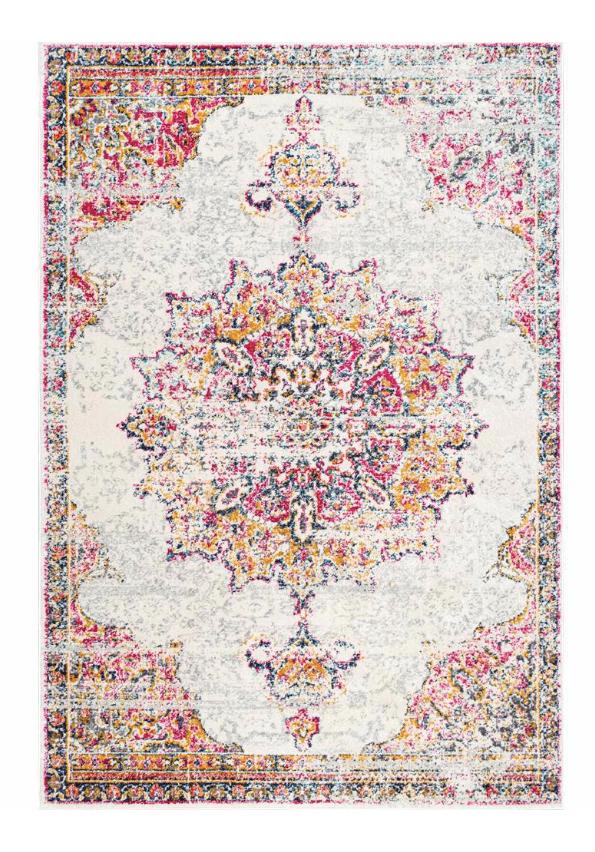 wildflower pink rug