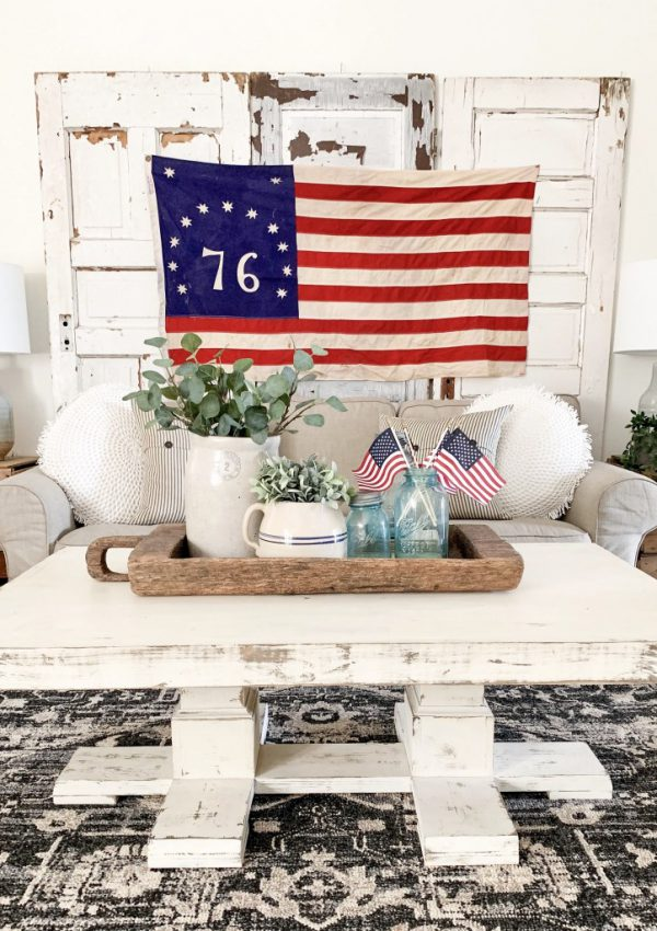 Vintage Syle 4th Of July Decor