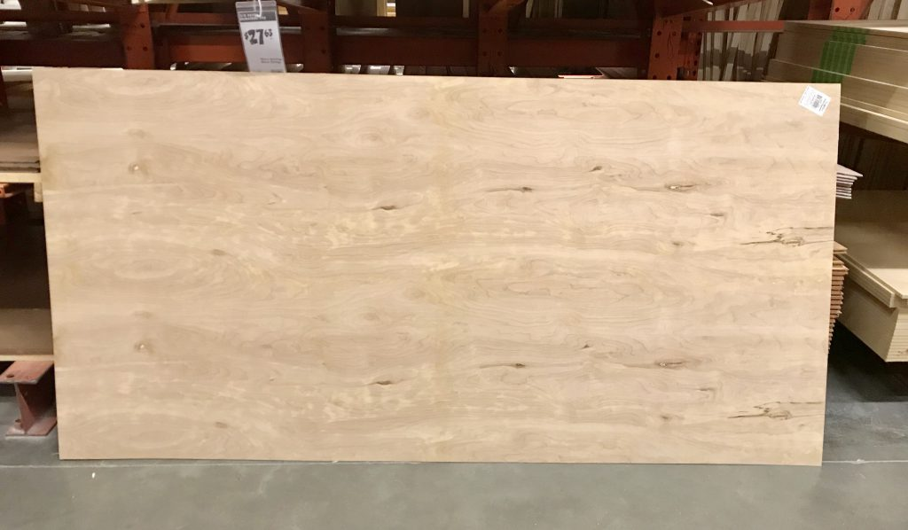 faux shiplap underlayment board