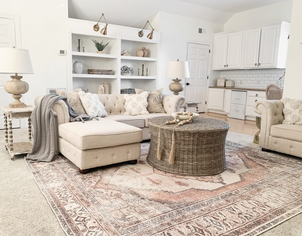 Arncliffe area rug from Boutique Rugs  bonus room pick
