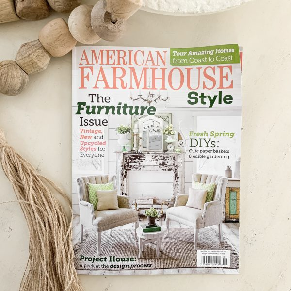 My Feature In American Farmhouse Magazine