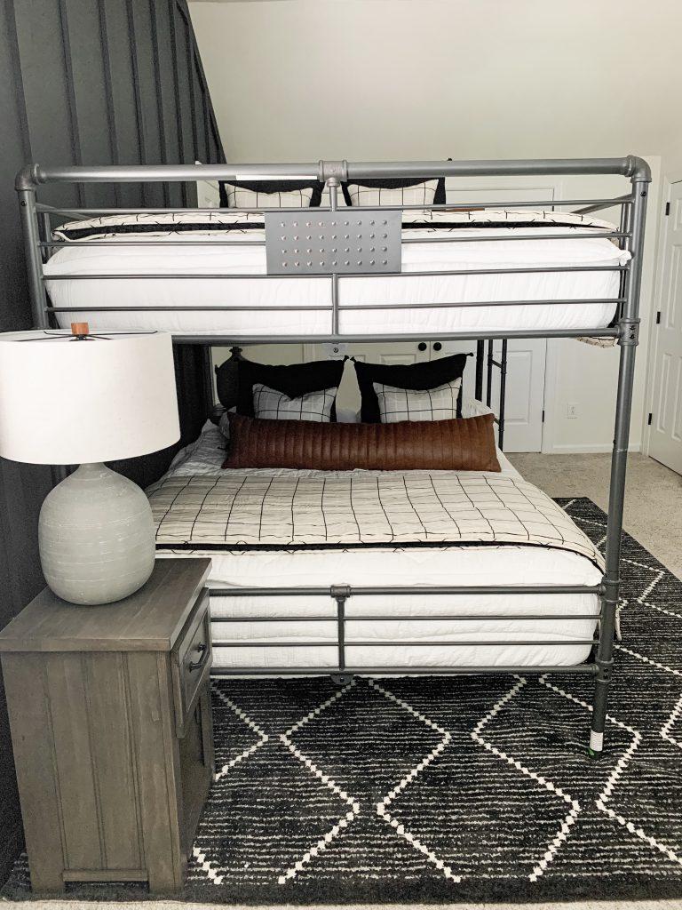 bottom of bunkbed