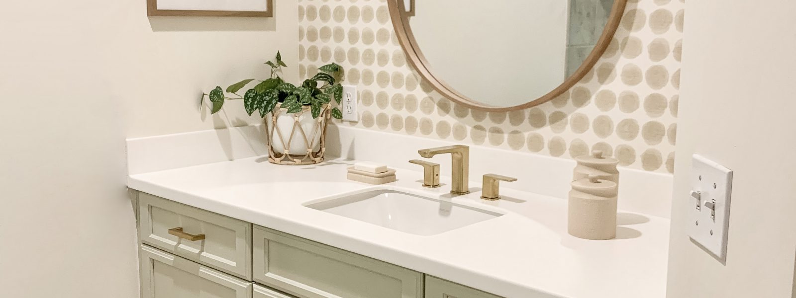 Master Bathroom Reveal- Ideas For Updating Your Dated Bathroom