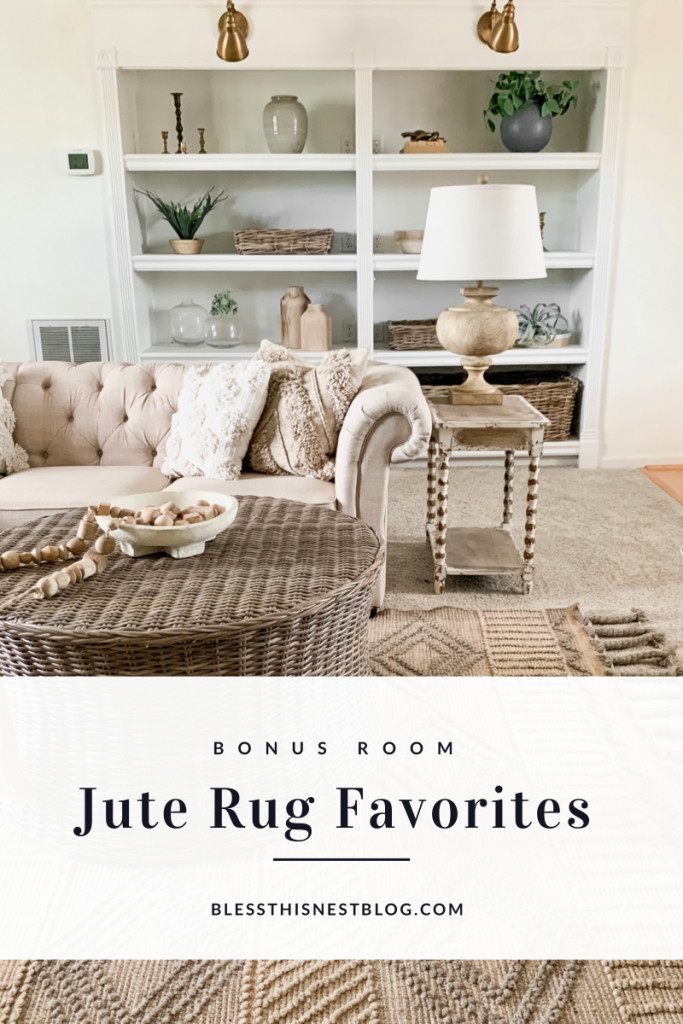 Jute Rug Favorites blog banner
