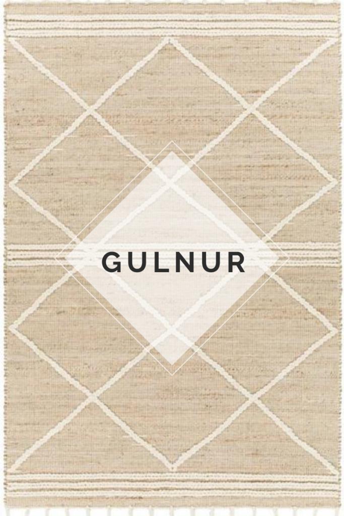 Gulnur Jute Rug