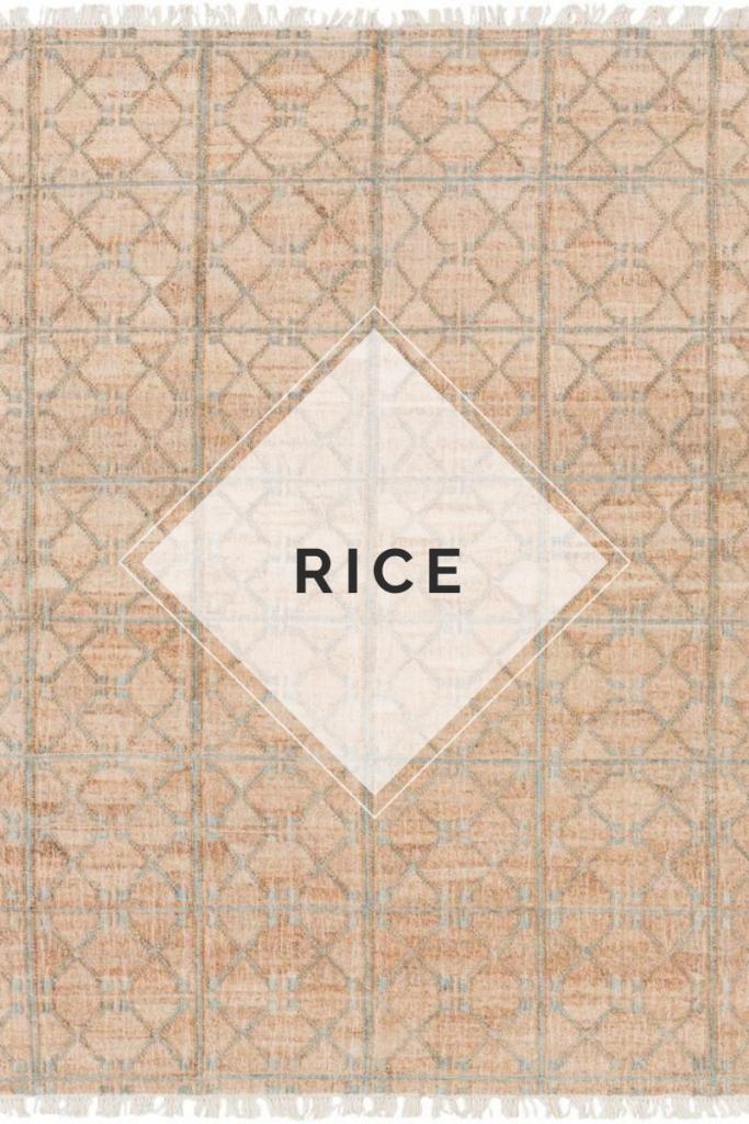 Rice Jute Rug